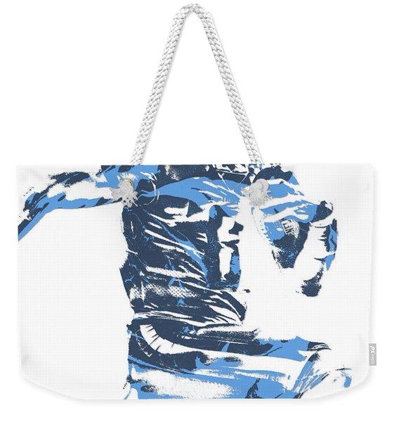 Marcus Mariota Tennessee Titans Pixel Art 22 Weekender Tote Bag