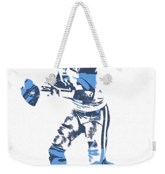 Marcus Mariota Tennessee Titans Pixel Art T Shirt 1 Weekender Tote Bag