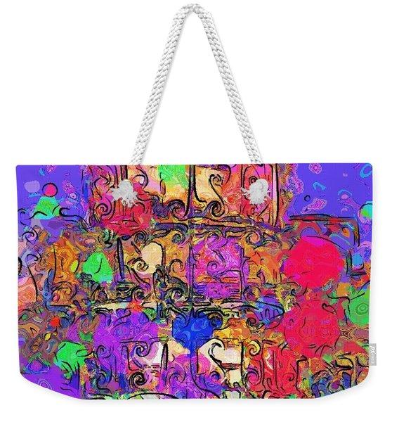 Mardi Gras Weekender Tote Bag