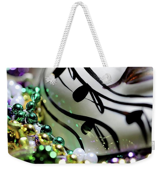 Mardi Gras I Weekender Tote Bag