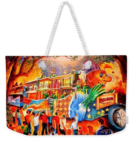 Mardi Gras With Endymion Weekender Tote Bag