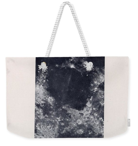 Mare Tranquillitatis - The Sea Of Tranquility - Surface Of The Moon - Lunar Surface - Celestial Char Weekender Tote Bag