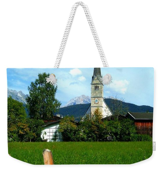 Maria Alm Weekender Tote Bag
