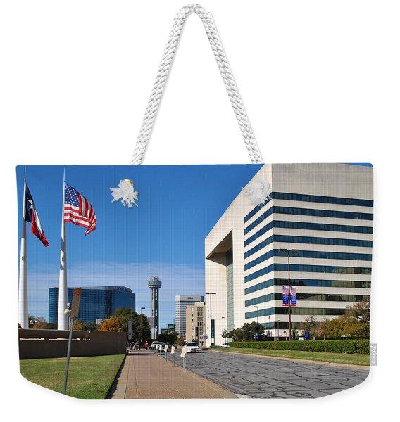 Marilla St. Weekender Tote Bag