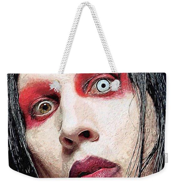 Marilyn Manson Weekender Tote Bag