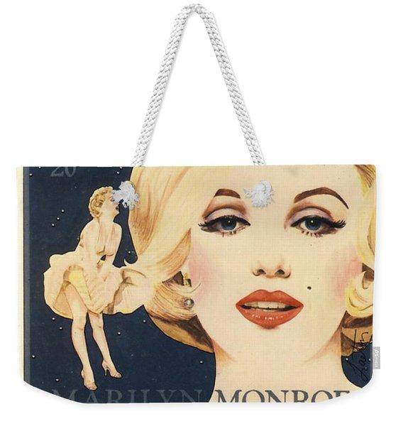 Marilyn Monroe Stamp Weekender Tote Bag