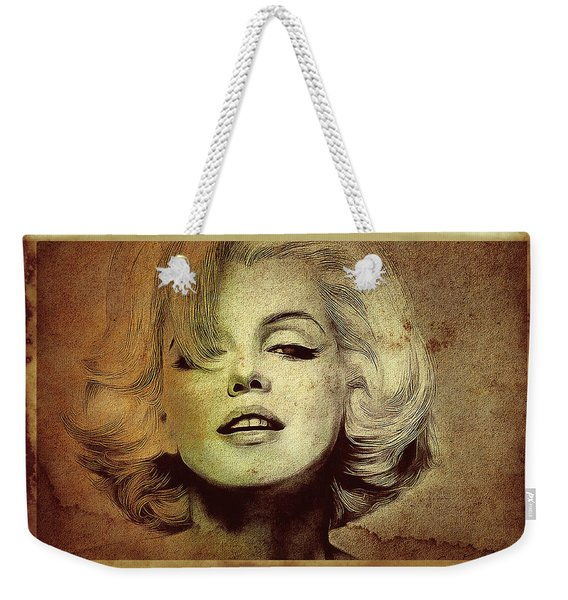Marilyn Monroe Star Weekender Tote Bag