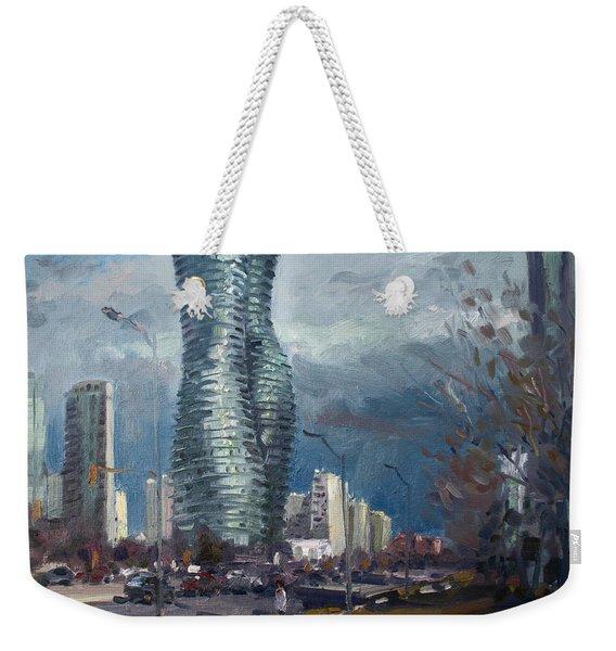 Marilyn Monroe Towers Mississauga Weekender Tote Bag