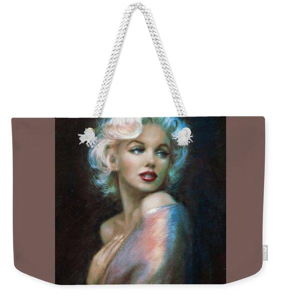 Marilyn Romantic Ww 6 A Weekender Tote Bag