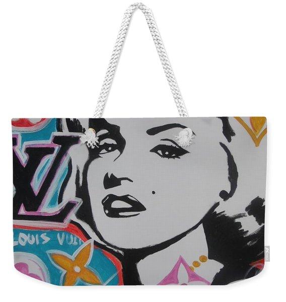 Marilyn Vuitton Weekender Tote Bag