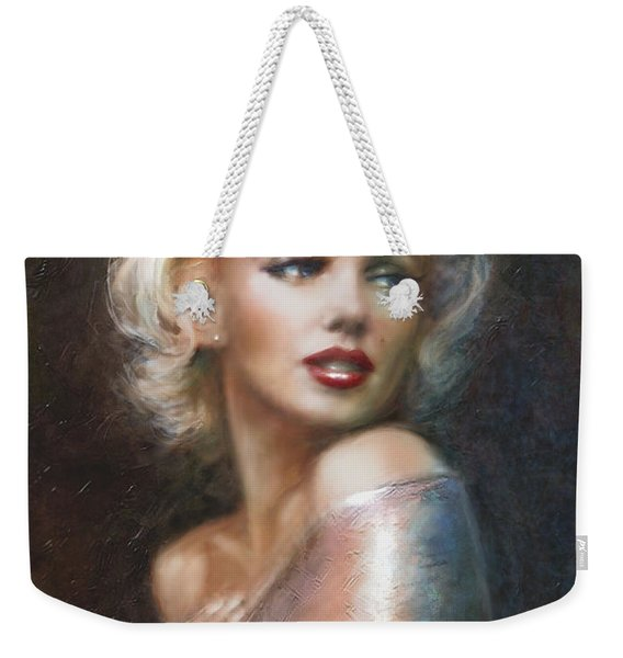 Marilyn Ww Soft Weekender Tote Bag