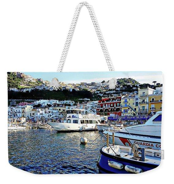 Marina Grande - Isle Of Capri Weekender Tote Bag