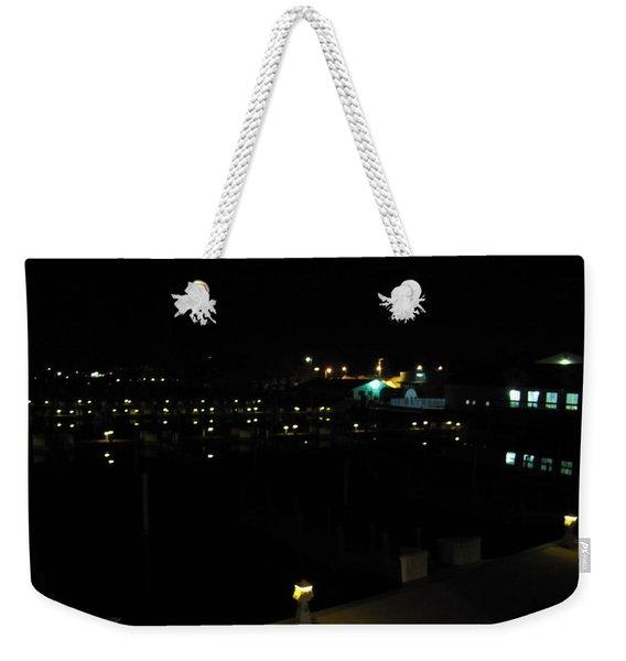 Marina Nights Weekender Tote Bag