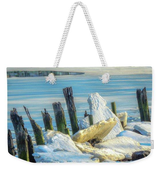 Marina On The Rocks Weekender Tote Bag