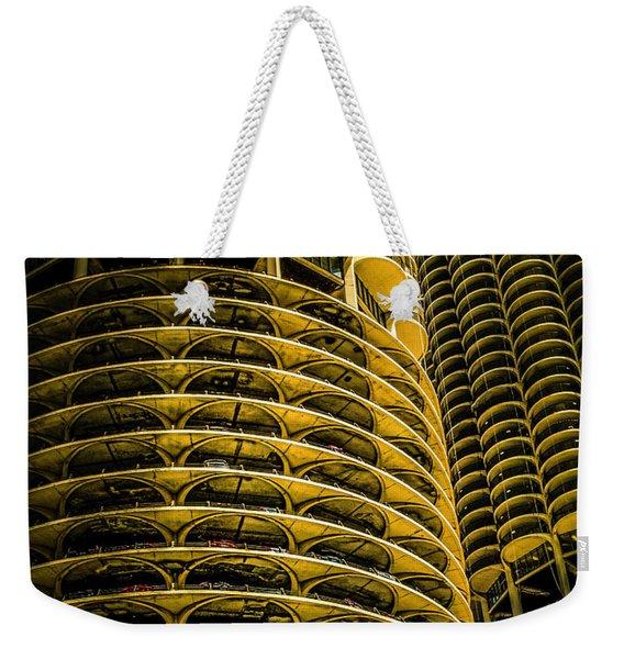 Marina Towers Weekender Tote Bag