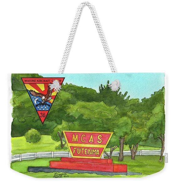 Marine Aircraft Group At Mcas Futenma Weekender Tote Bag