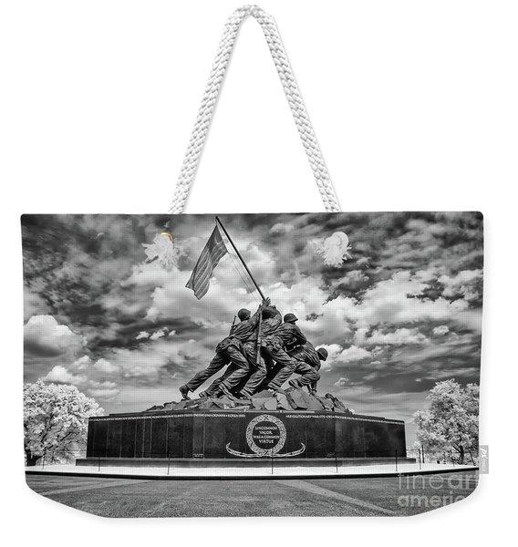 Marine Corps War Memorial Weekender Tote Bag