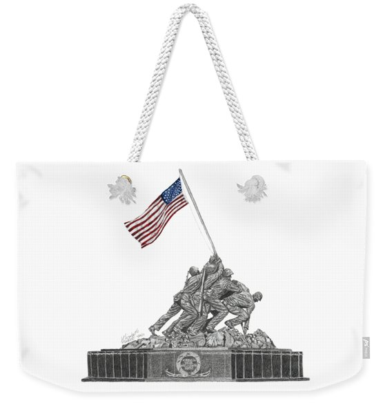 Marine Corps War Memorial - Iwo Jima Weekender Tote Bag