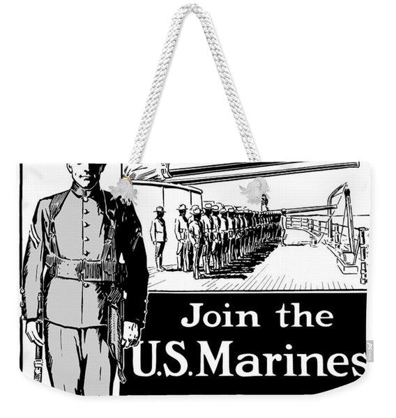 Marine Corps Week - Ww1  Weekender Tote Bag
