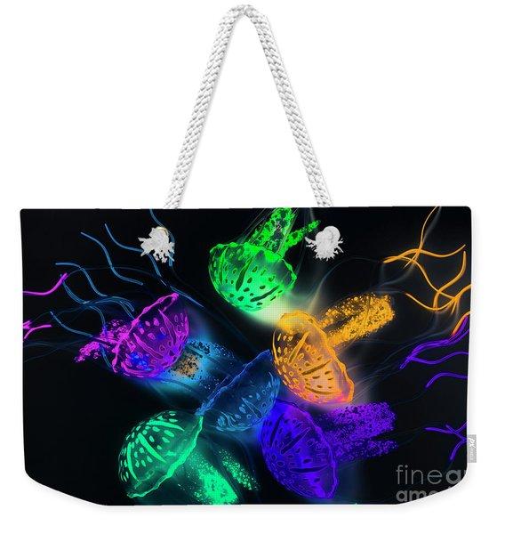 Marine Glow Weekender Tote Bag
