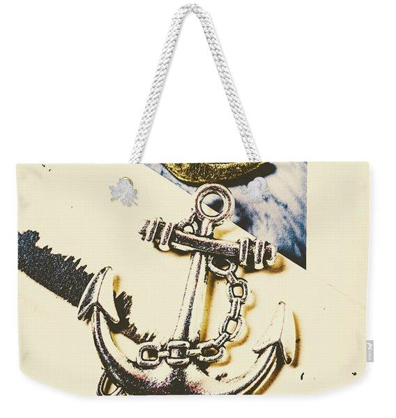 Marine Insignia Weekender Tote Bag