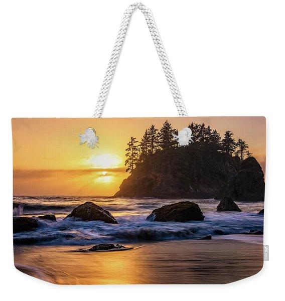 Marine Layer Sunset At Trinidad, California Weekender Tote Bag