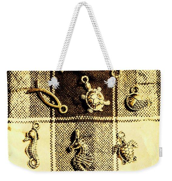 Marine Theme Weekender Tote Bag