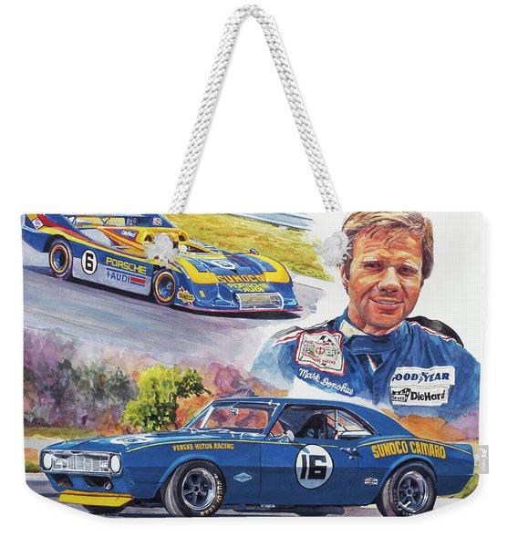 Mark Donohue Racing Weekender Tote Bag