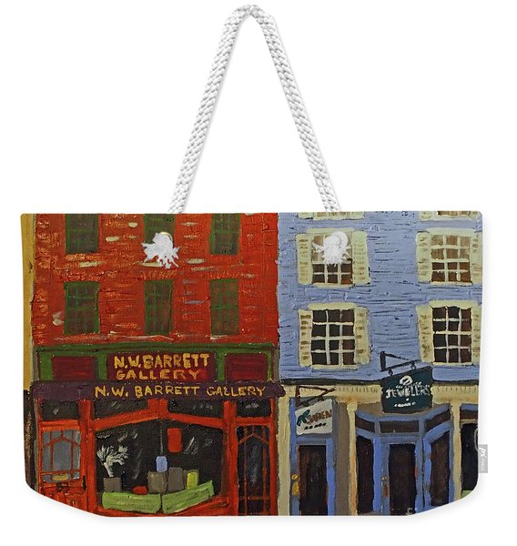 Market Street Duo Weekender Tote Bag
