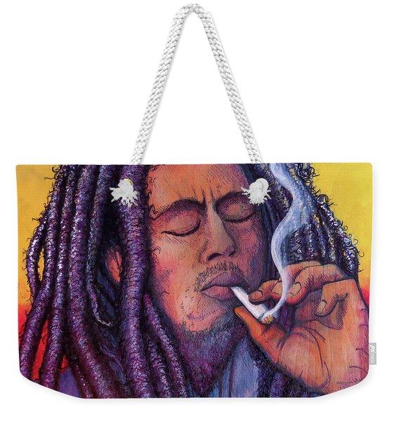 Marley Smoking Weekender Tote Bag