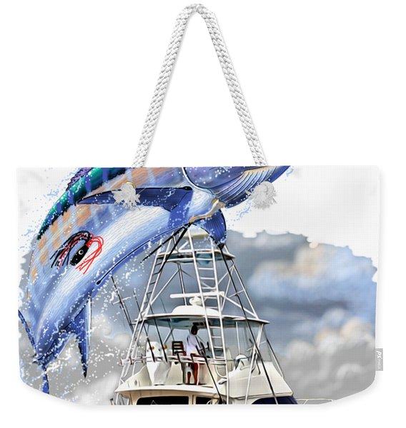 Marlin Commission  Weekender Tote Bag