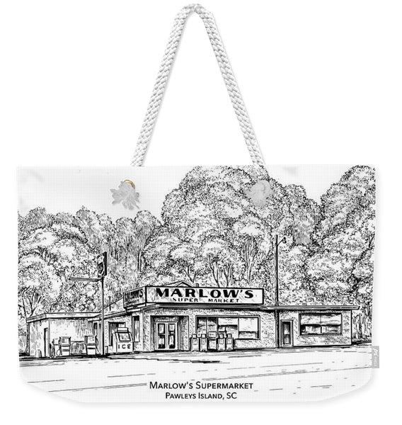 Marlows Market Weekender Tote Bag