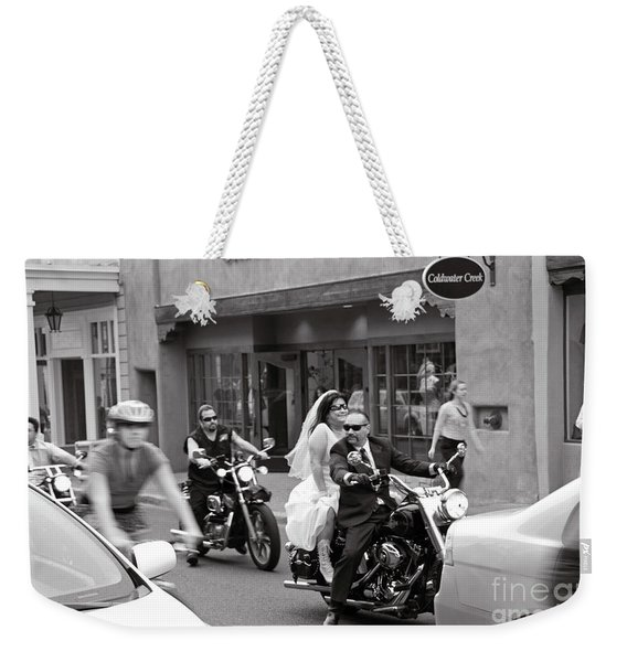 Marriage In Santa Fe Weekender Tote Bag