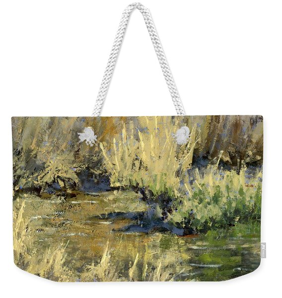 Marsh Twilight Weekender Tote Bag