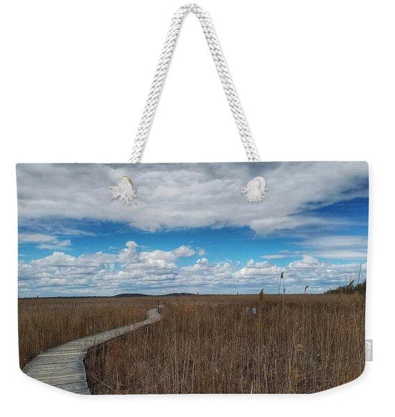 Marsh Walk 3 Weekender Tote Bag