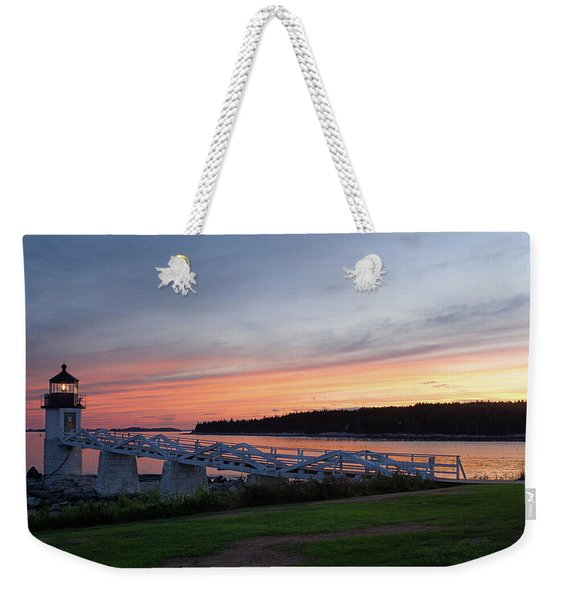 Marshall Point Lighthouse, Port Clyde, Maine -87444 Weekender Tote Bag