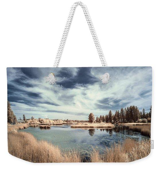 Marshlands In Washington Weekender Tote Bag