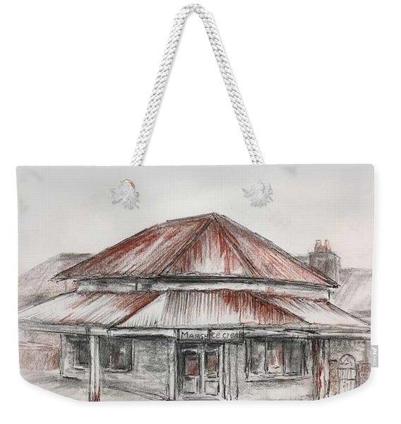 Marsh's Corner Store Weekender Tote Bag
