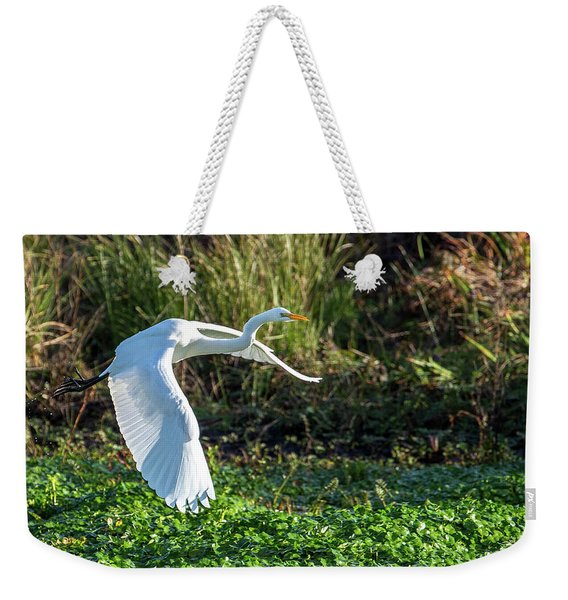Marshy Flight  Weekender Tote Bag