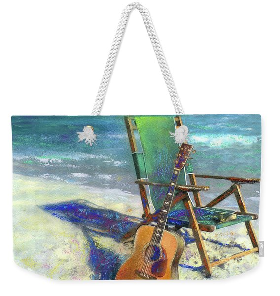 Martin Goes To The Beach Weekender Tote Bag