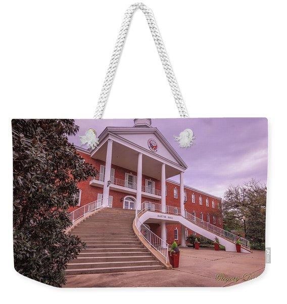 Martin Hall 5 Weekender Tote Bag