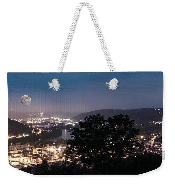 Martins Ferry Night Weekender Tote Bag