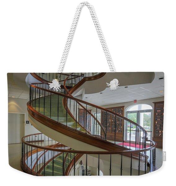 Marttin Hall Spiral Stairway 2 Weekender Tote Bag