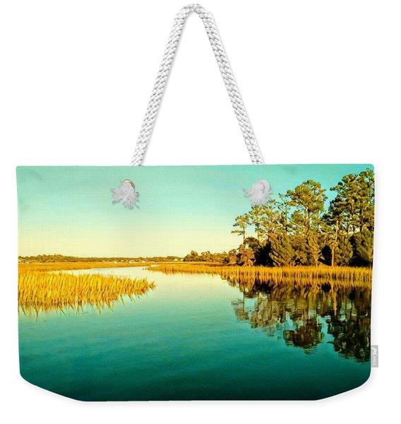 Marvelous Marsh Weekender Tote Bag