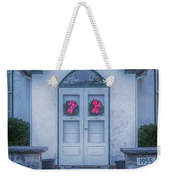 Marvin Chapel Weekender Tote Bag