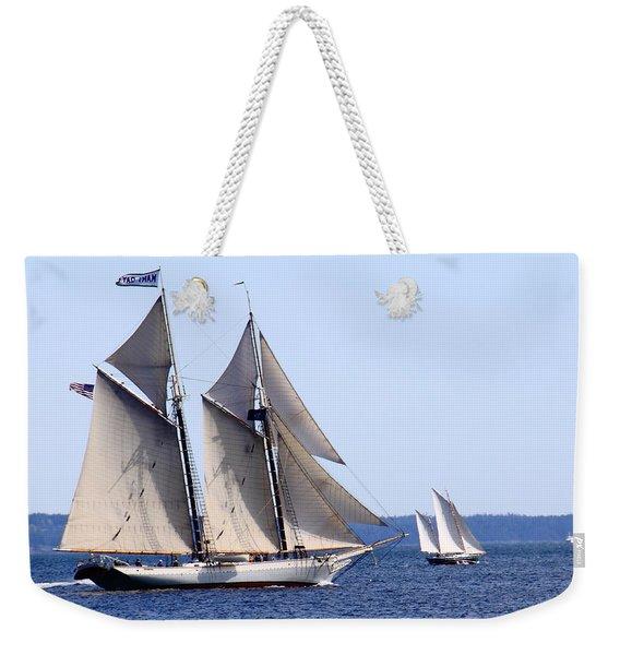 Mary Day Weekender Tote Bag