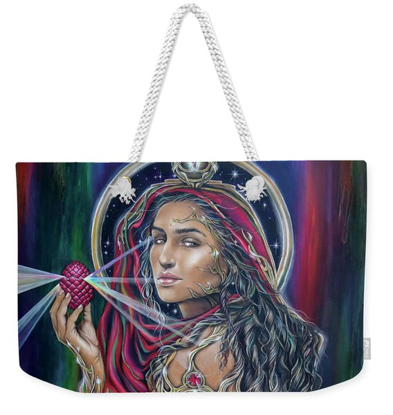 Mary Magdalen - The Holy Grail Weekender Tote Bag