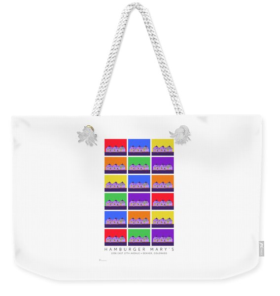 Mary Montage Weekender Tote Bag
