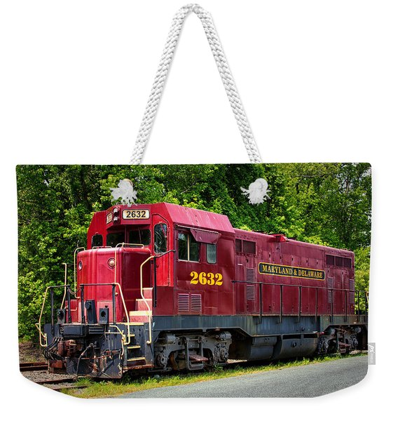 Maryland And Delaware Engine 2632 Weekender Tote Bag
