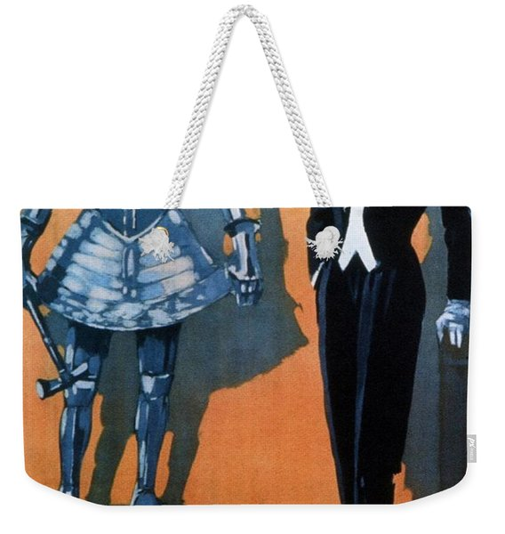 Marzotto - Italian Textile Company - Vintage Advertising Poster Weekender Tote Bag